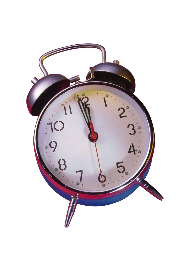 The clocks went forwardin March