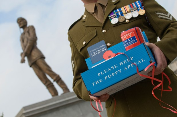 The Poppy Appeal first launched in 1921