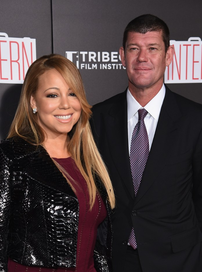 """The source said: """"James had huge reservations about Mariah's new reality TV show and the fact that she was willing to expose their lives to the world"""""""