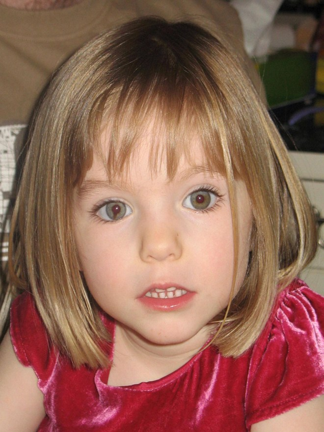 Missing Maddie . . . police have recorded 8,685 potential sightings of missing Brit since 2007
