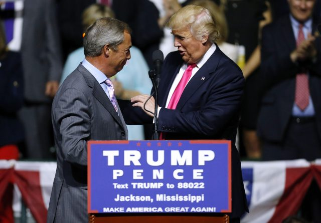 Donald Trump wasnˈt always a controversial politician