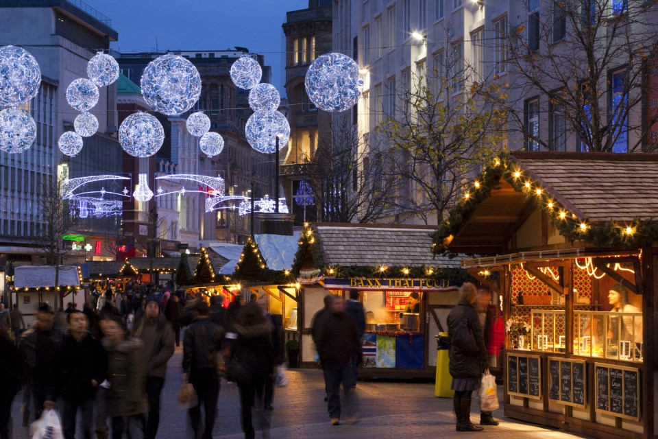 The Christmas lights in Liverpool will be turned on on Thursday November 9