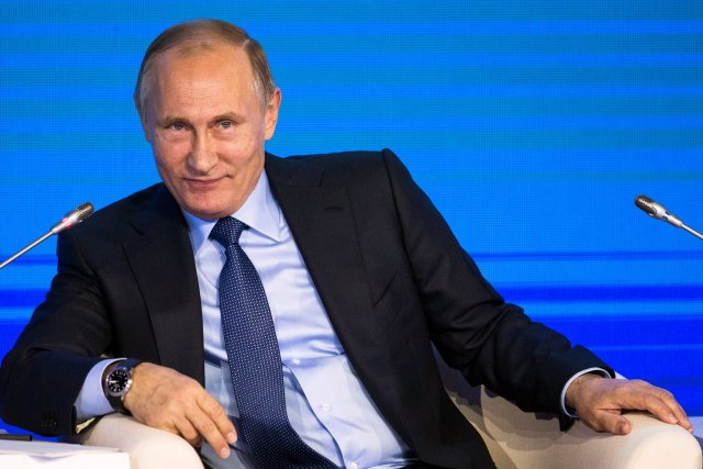 Putin has angered Western leaders with his support of dictator Assad, who is accused of war crimes against his people including the use of chemical weapons