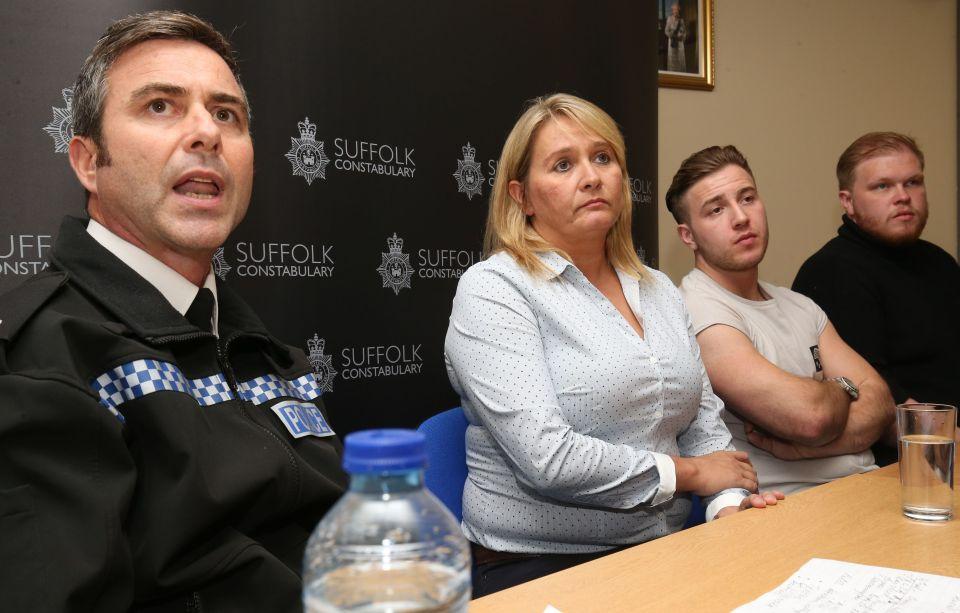 Nicola Urquhart believes her son is still alive