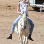 Caitlyn And Kendall Jenner Saddle Up For Horseback Ride In Santa Clarita While Filming For Keeping Up With The Kardashians