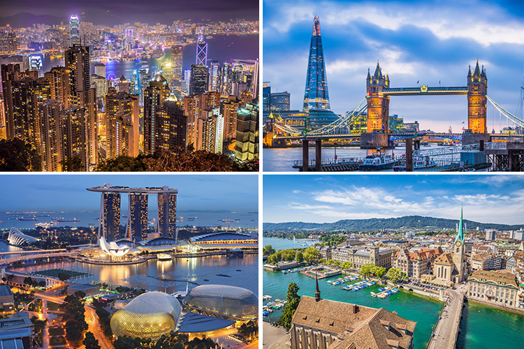 10 of the most expensive cities in the world, where living costs a pretty penny