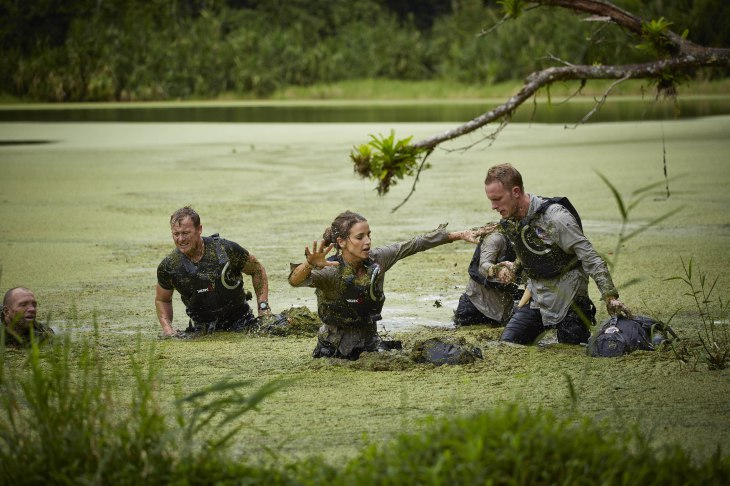 Vogue and Laurence first met as they took part in Bear Grylls: Mission Survive