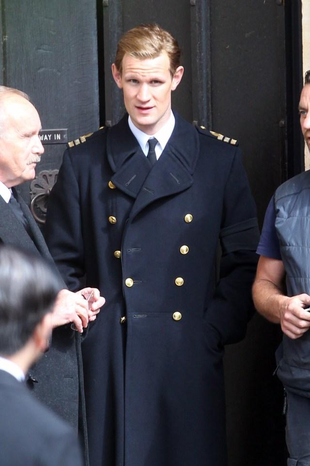 Doctor Who star Matt Smith plays Elizabeth's husband Prince Philip