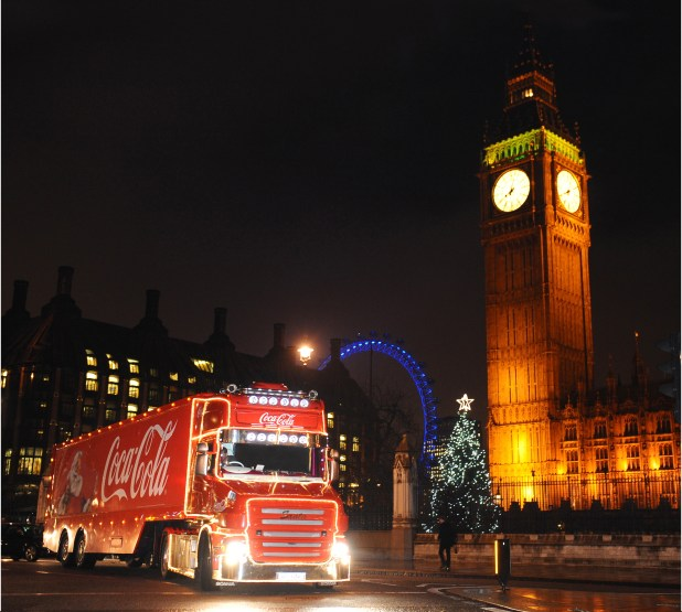 Essex will be the last stop of the Coca-Cola truck