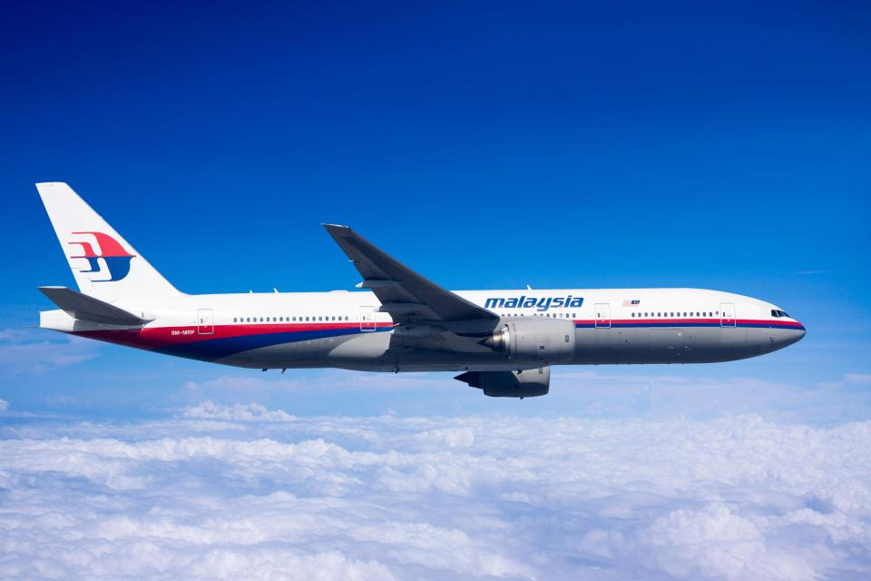 The plane was lost with 239 people on board. File picture