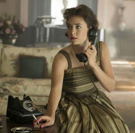 She is best known for playing Princess Margaret in The Crown