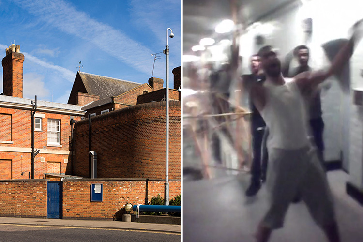 What was the HMP Bedford prison riot about how many inmates were involved and was anyone hurt
