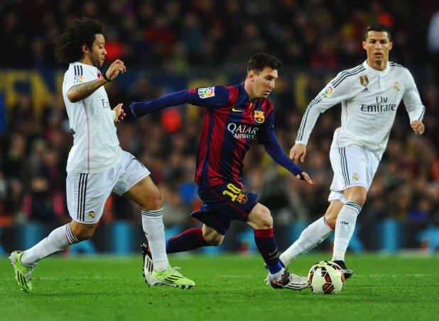 Real Madrid and Barcelona play out biggest contest in club football