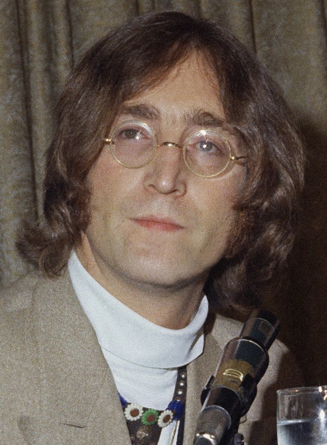 """Day in the life ... John Lennon was told he'd be """"shot on an island"""" over a decade before he was gunned down outside his apartment building on New York's Manhattan Island"""