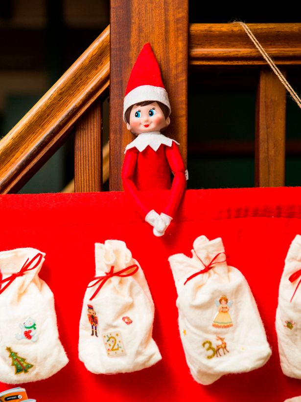 Now that's officially December the countdown to Christmas is one - why not celebrate it with an Elf on the Shelf toy