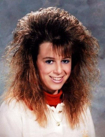 These Funny Snaps Prove Why 80s Hairstyles Should Never Make A