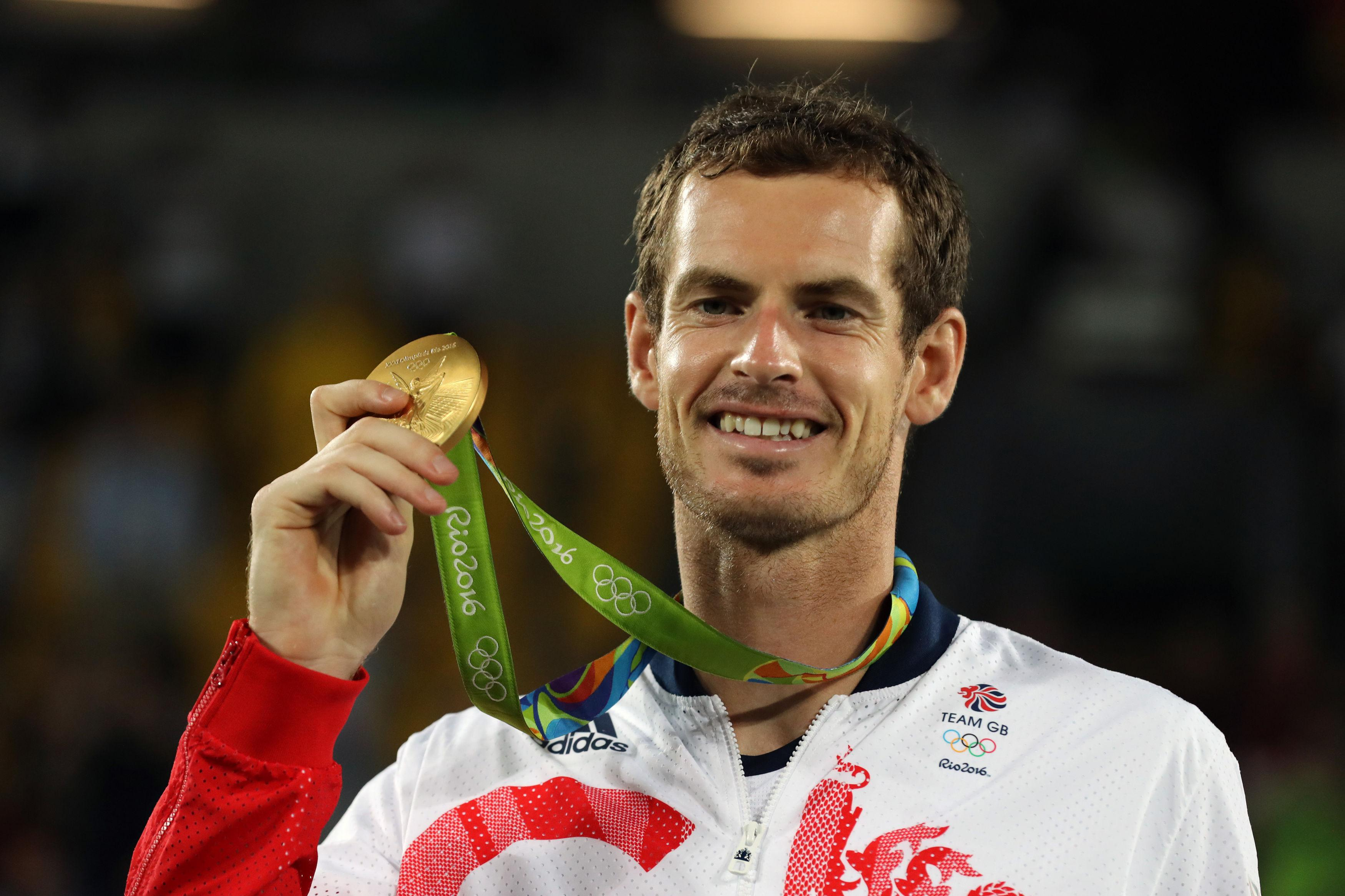 Olympic champion Andy Murray won Wimbledon in 2016 and nine titles in total.