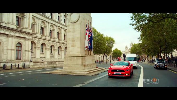 The trailer appears to show a slight dig at the trio's former show, Top Gear
