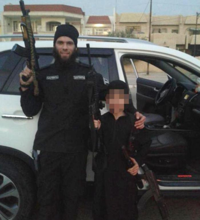 Mario Sciannimanica fled to Syria after a failed attempt at a gangsta rap career