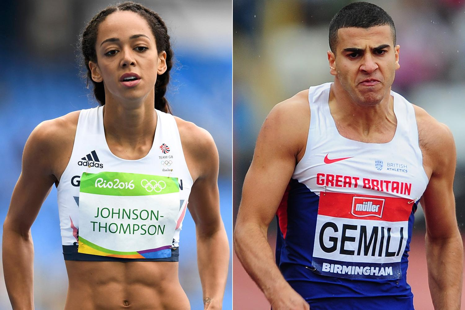Katarina Johnson-Thompson and ...