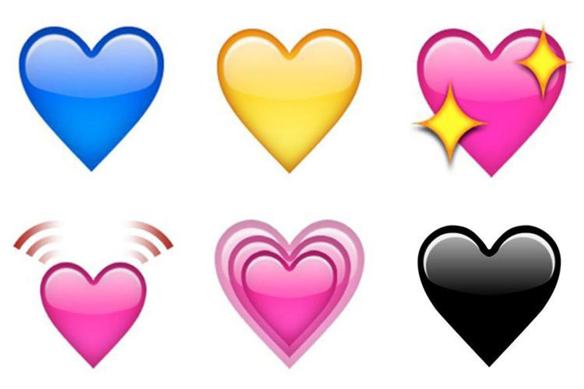 Here's what those different heart emojis REALLY mean – from sorrow