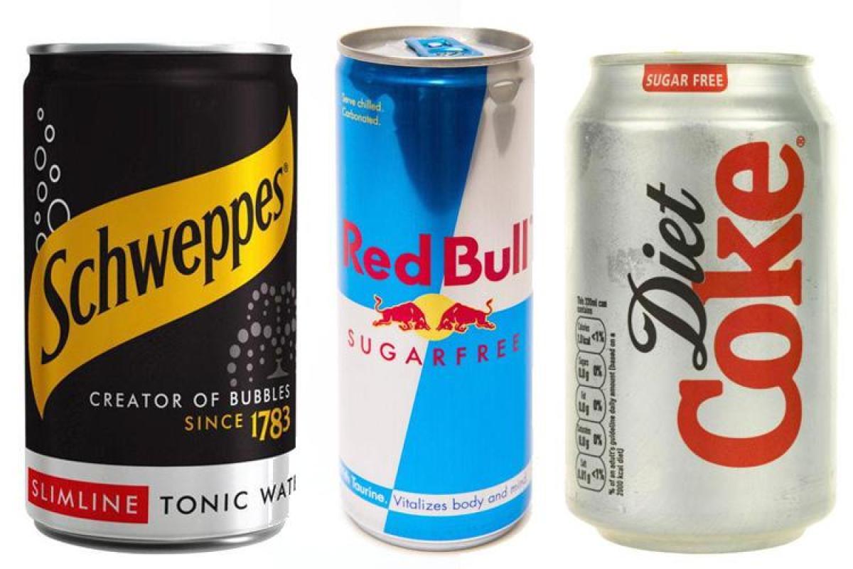 diet coke and sugar free redbull