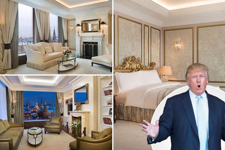 Inside Donald Trump S Plush 14 000 A Night Ritz Hotel Room