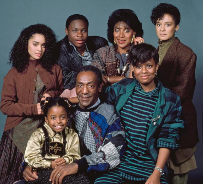 Happier times... Bill Cosby pictured in The Cosby Show