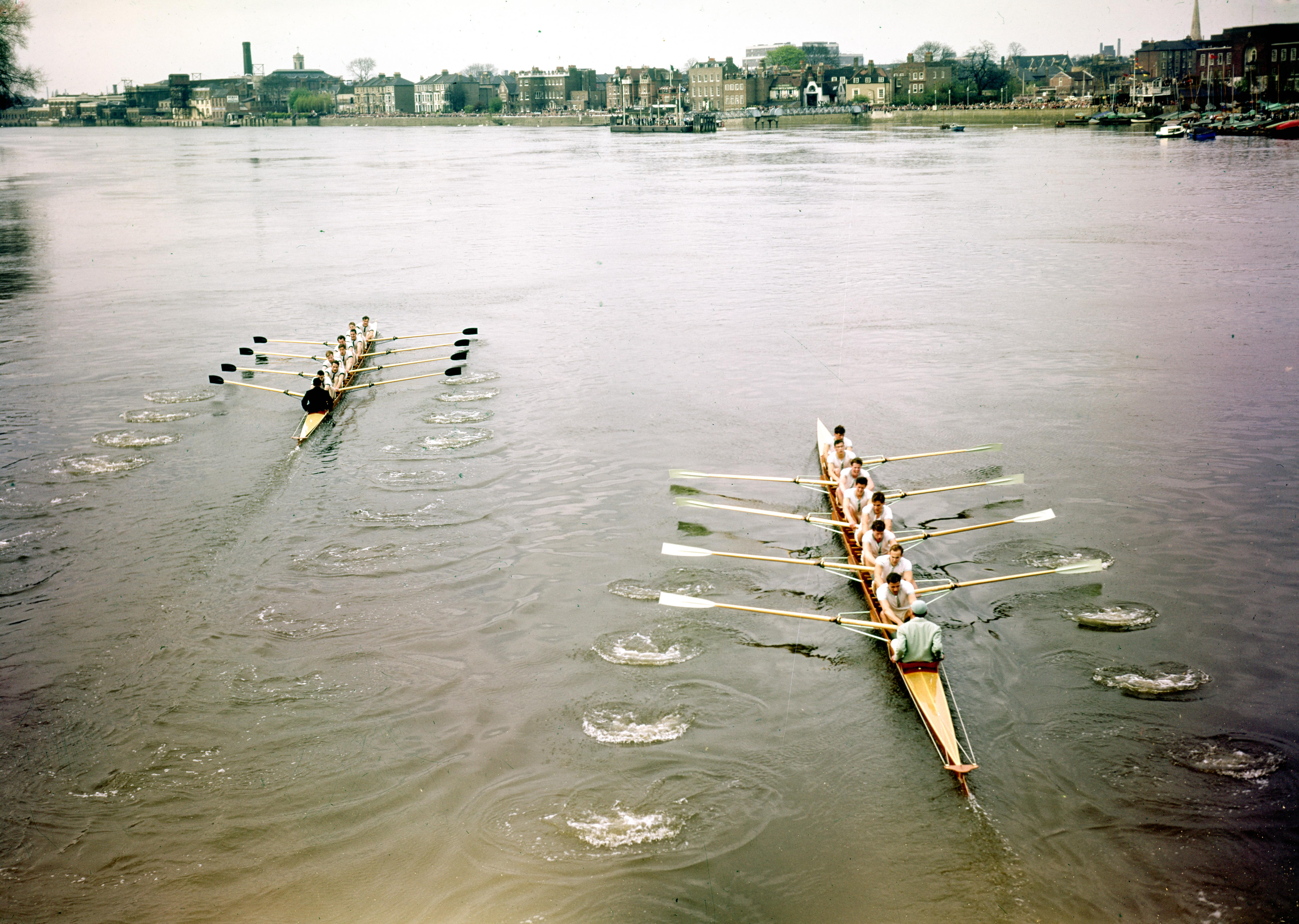 The Men's Boat Race has been taking place since 1829