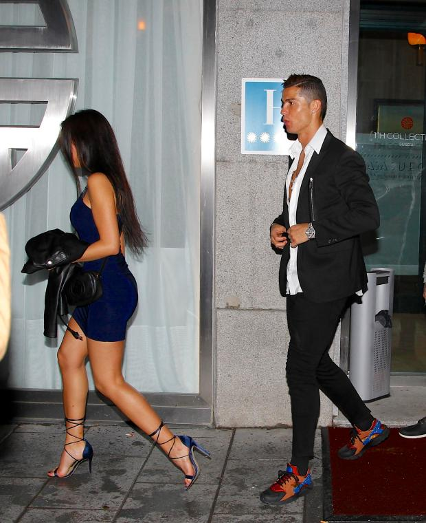 While it's difficult to know exactly how long Ronaldo and Rodriguez have been dating, their first public date was a couple of months ago
