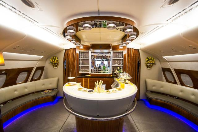 Inside players will live the life of luxury with their own bar