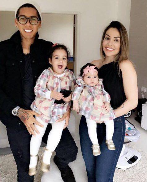 Robert, Larissa and kids