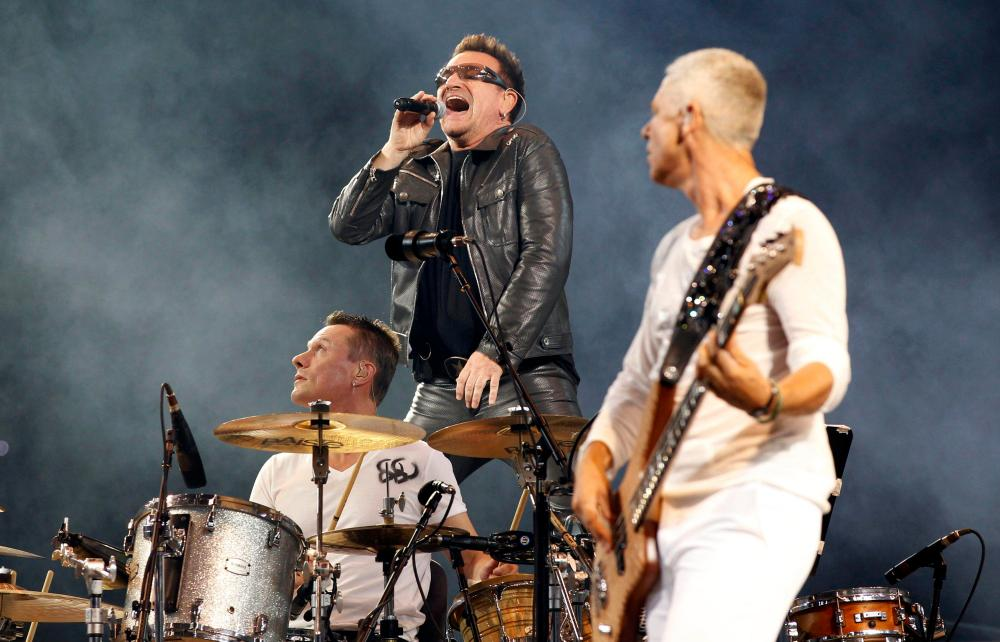 Image result for U2 is the top-selling live act for U.S. summer 2017 -StubHub