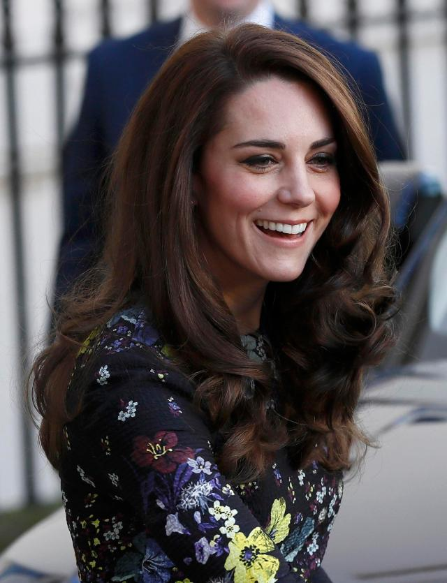 kate middleton shows off her new hairstyle as she joins