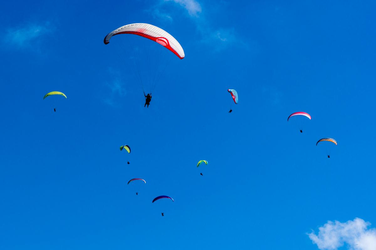 Brit dies after freak paragliding accident on first day of dream holiday