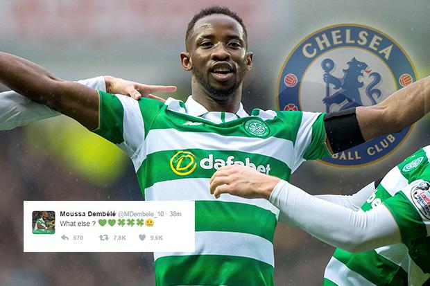 Celtic star Moussa Dembele has confirmed he is set to stay with