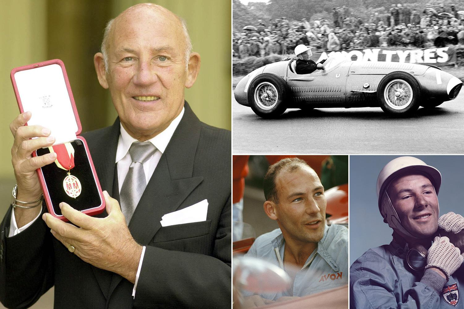 British Formula One legend Sir Sterling Moss is recovering from serious chest infection in top Singapore hospital
