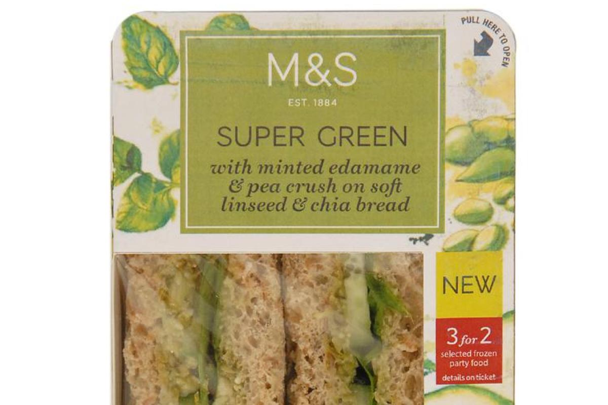 Marks Spencer Launches First Ever Vegan Sandwich Range