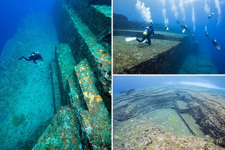 These Underwater Ruins Are Known As Japans Atlantis And No One Is