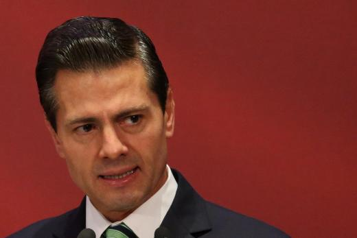Mexico's president Enrique Pena Nieto has repeatedly insisted Mexico will not pay for the wall