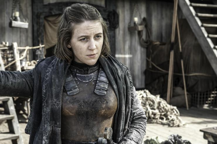 Gemma's other leading role is as Yara Greyjoy in Game of Thrones