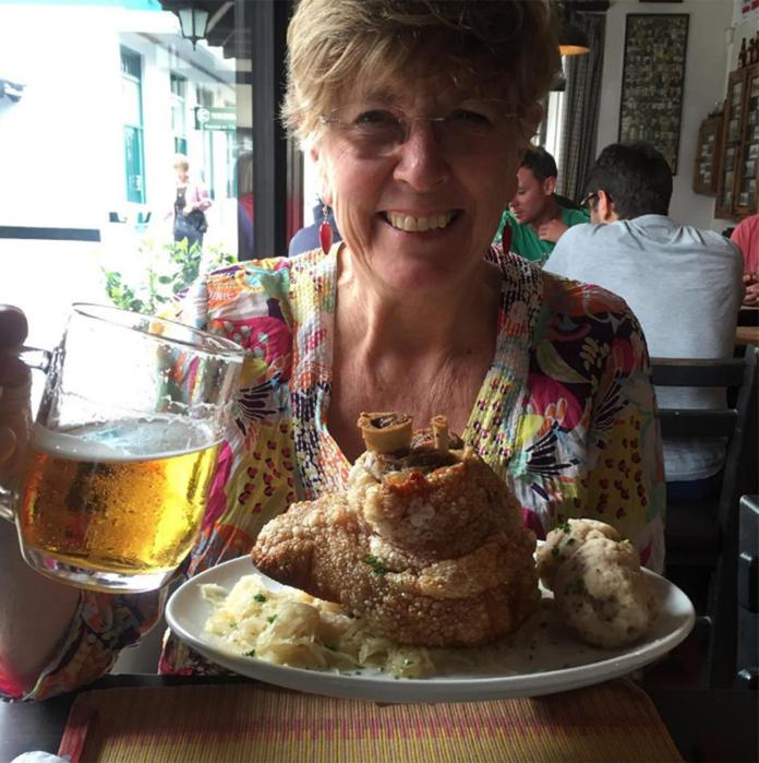 The food lover studied at the Cordon Bleu and started up her own business