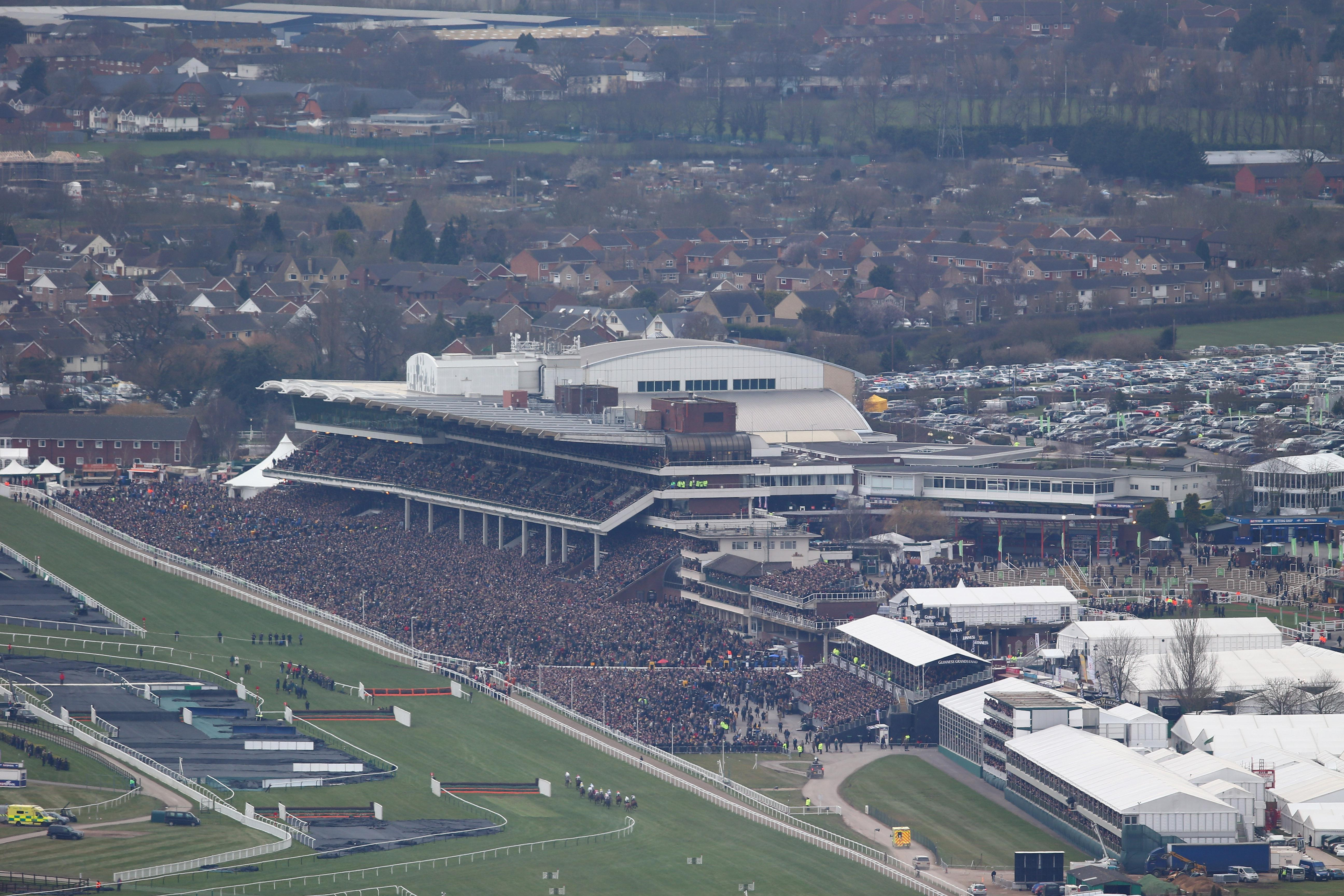 Racing returns to Cheltenham for the first time since the Festival