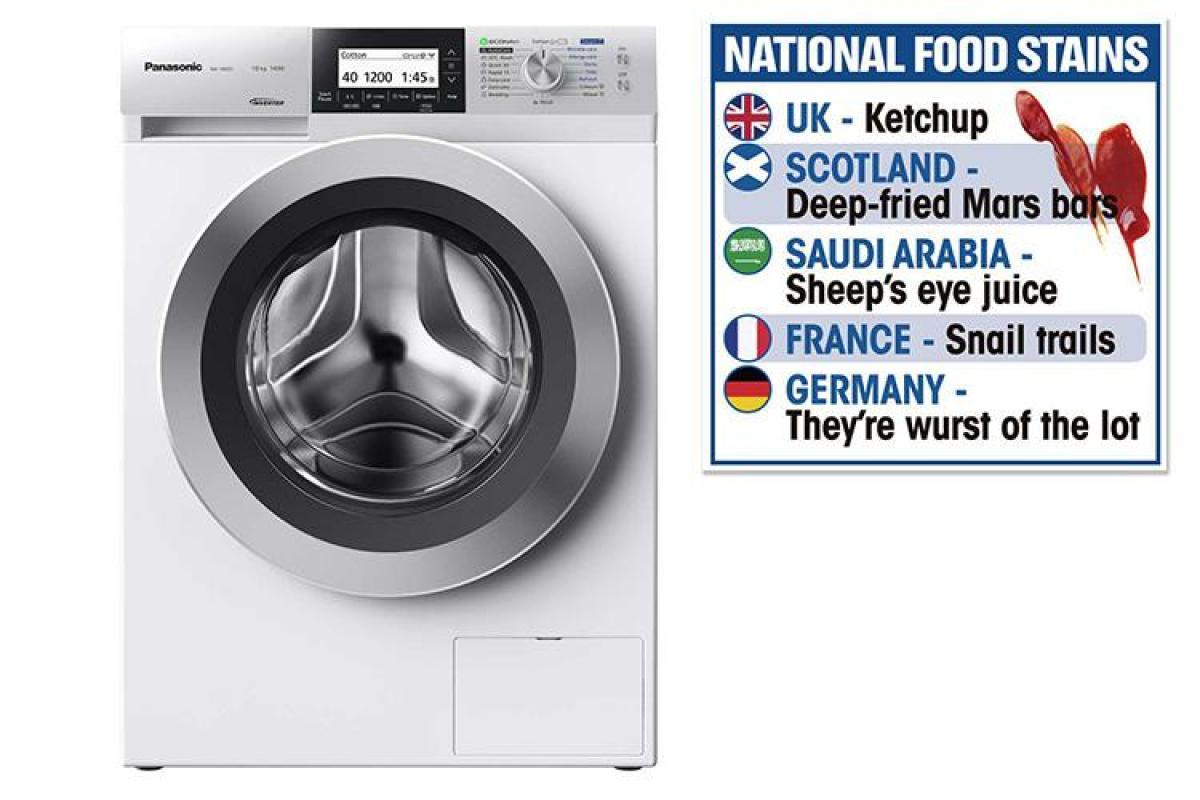 Travel Washing Machine Panasonics New Washing Machine Has A Special Mode To Get Rid Of