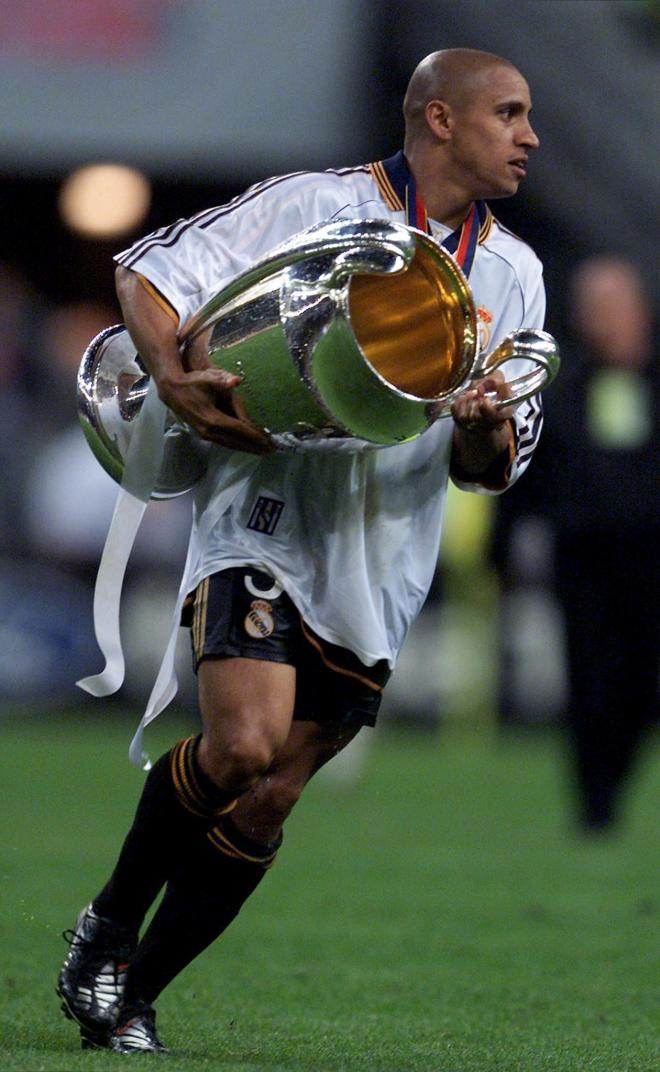 Roberto Carlos won the Champions League three times with Real Madrid