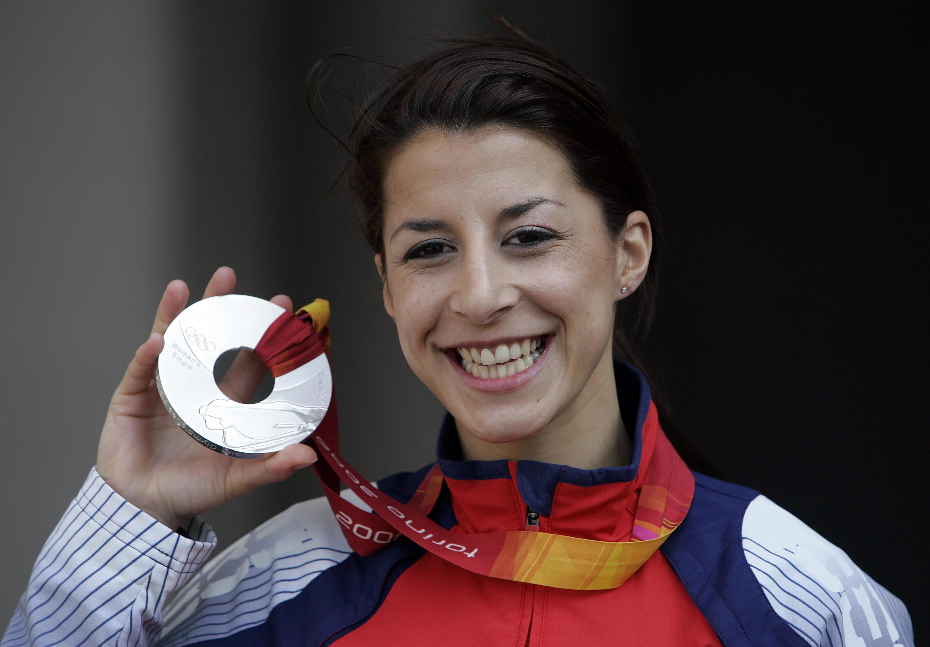 Shelley Rudman surprised herself as she won a silver medal at the 2006 Winter Olympics