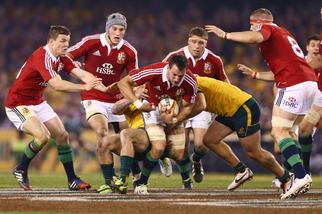 The Lions beat Australia 2-1 in their last tour in 2013
