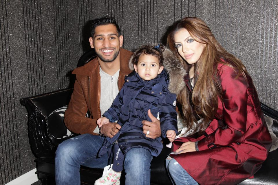 Image result for Amir Khan and Faryal  2017