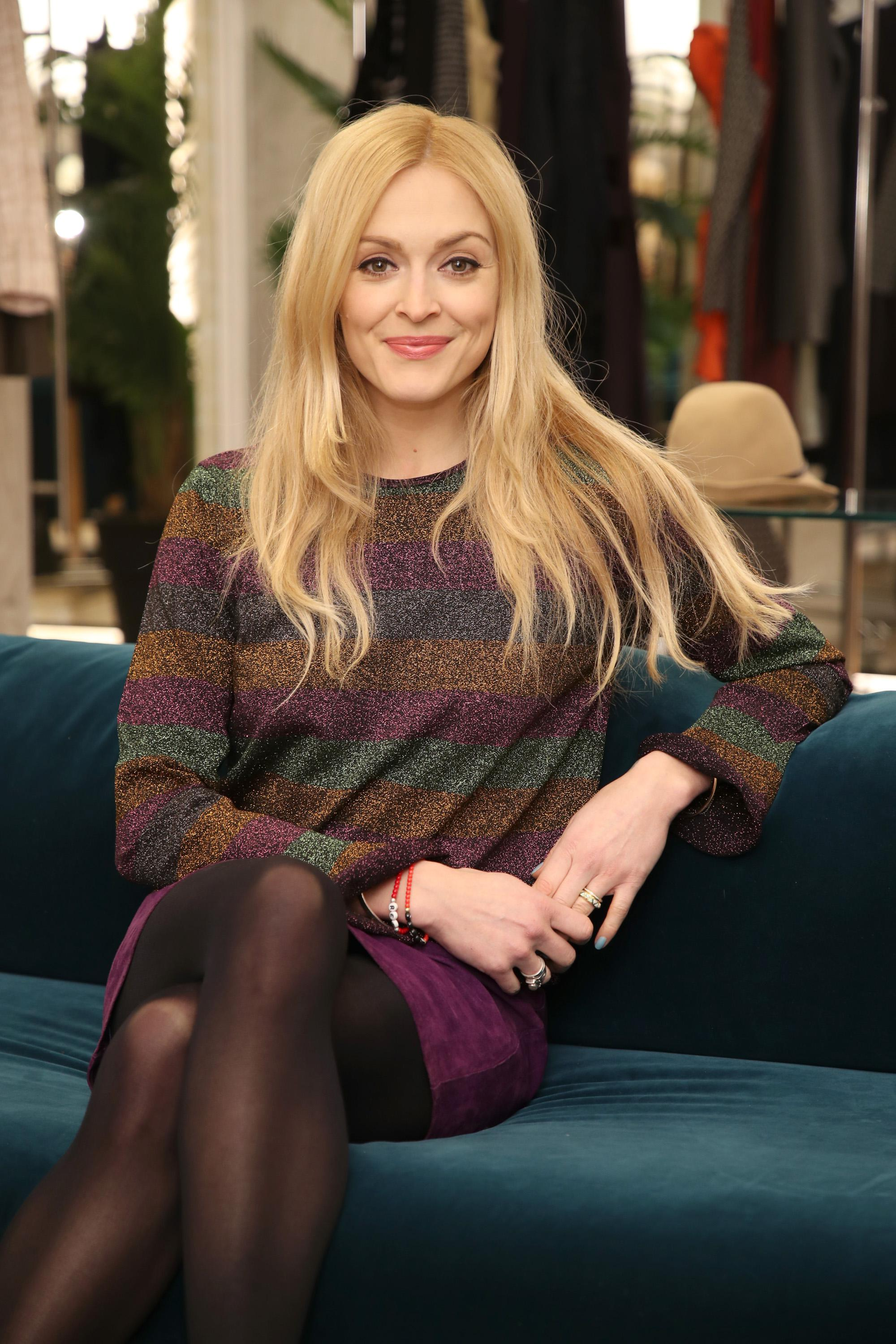 fearne cotton sofa alexis chesterfield restoration hardware becomes latest guest host to fill in for