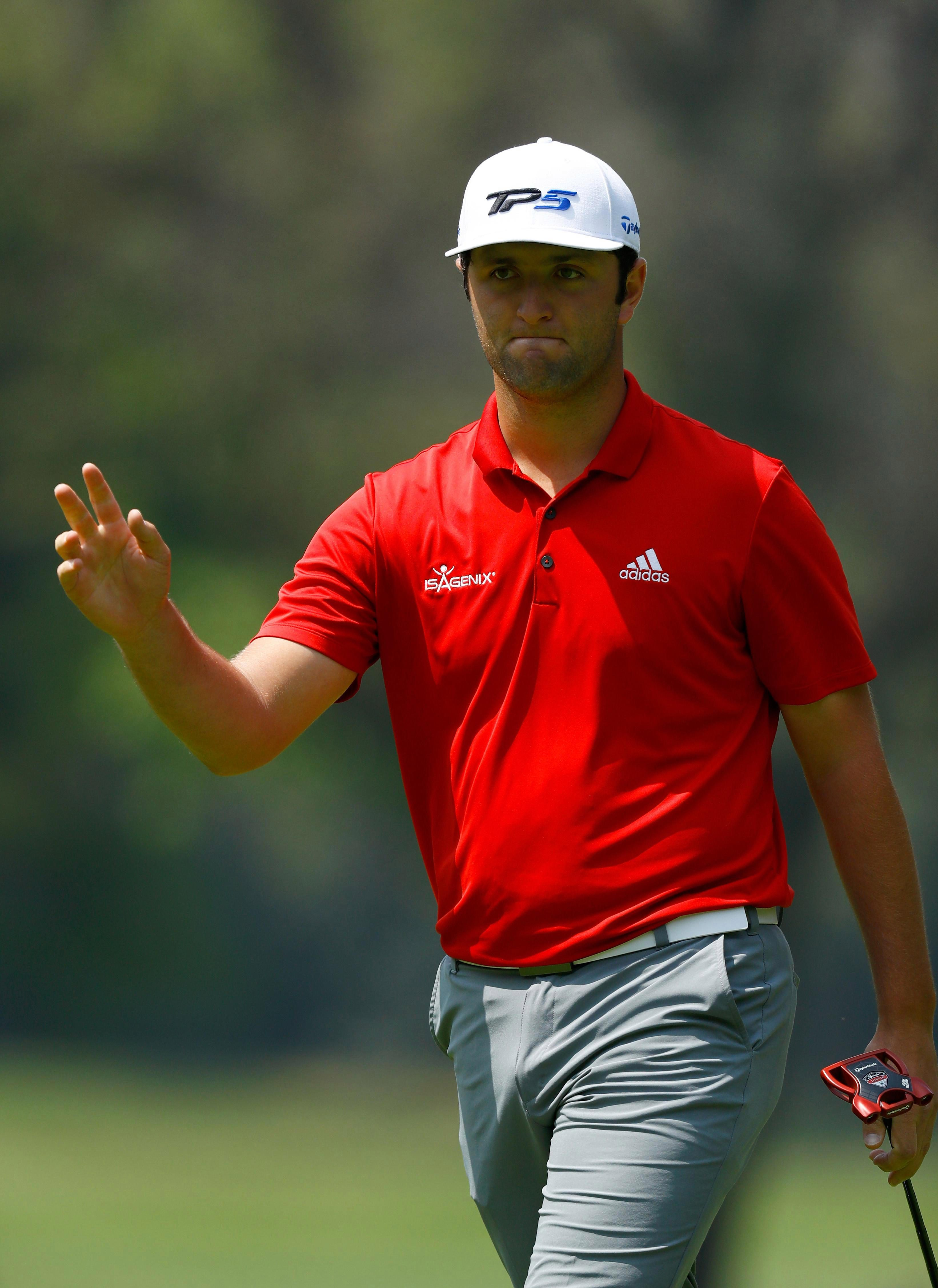 Jon Rahm is being branded as golf's next big thing